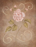 Pink Elegance II Art by Jane Carroll