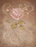 Pink Elegance I Posters by Jane Carroll