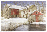 The Old Spring House Print by Dan Campanelli
