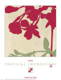 Tropical Impressions IV Posters by  Georgie