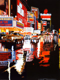 Broadway II by Alain Bertrand Art Print