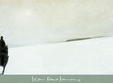 Cavalier dans la neige Posters av Jean-Paul Lemieux
