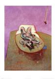 Reclining Figure, 1966 ポスター : フランシス・ベーコン