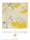 Tropical Impressions I Prints by  Georgie