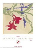 Tropical Impressions II Posters by  Georgie