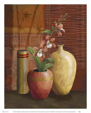 Asian Arrangement II Print by Thomas Wood
