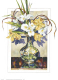 Spring Iris Posters by Sally Robertson