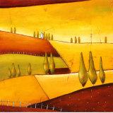 Roads III Lámina por Stacy Dynan