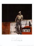 Vintage Poster by Erin Berrett