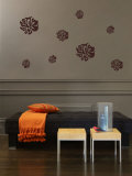 Nouveau Flower Wall Decal
