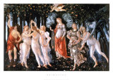 Primavera Posters by Sandro Botticelli
