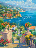 Summer Cove Print by Julian Askins