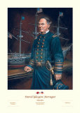 David Glasgow Farragut Print by William Meijer