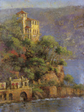 Mediterranean Hillside Prints by Michael Longo