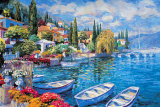 Italian Lakes II Print by Julian Askins