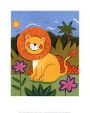 Baby Lion Poster von Sophie Harding