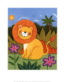 Baby Lion Posters by Sophie Harding