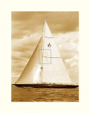 Classic Yacht II Print by Ingrid Abery