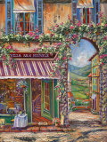 Villa San Michele Art by Ginger Cook