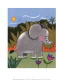Baby Elephant Prints by Sophie Harding