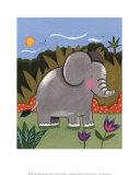 Elefanttivauva Posters tekijänä Sophie Harding