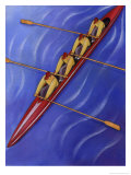 Rowing Team Giclee Print