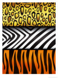 Animal Hide Texture Posters
