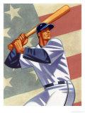 Joueur de baseball Posters