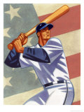 Baseball Player Giclee Print