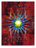 Futuristic Texture Posters