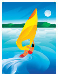 Sailboarding Affiches