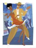 Harlem Renaissance Dancing Couple Posters