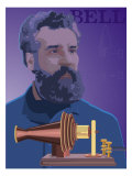 Alexander Graham Bell Giclee Print
