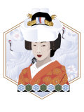 Japanese Bride Affiches