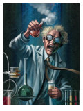 Mad Scientist Giclee Print