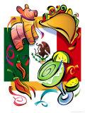 National Hispanic Heritage Month Montage Giclee Print