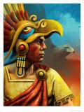 Cuauhtemoc-Aztec Ruler Posters
