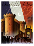 Bastille Day Montage Posters