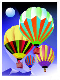 Hot Air Balloons Prints