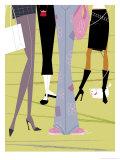 Women's Legs Prints