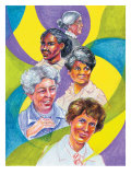 Women's History Month Montage Poster