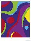 A Modern Art Painting Texture Art