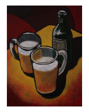 Beer Giclee Print by Todd Horne