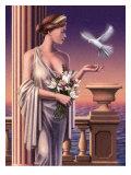 Aphrodite Feeding a Dove Posters