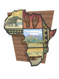 African Montage Prints