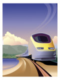 Eurostar High Speed Train Posters