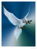 Dove of Peace Giclee Print
