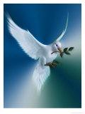 Pomba da paz Pôsters