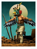 Hopi Eagle Dancer Kachina Posters