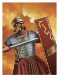 A Roman Soldier Affiches